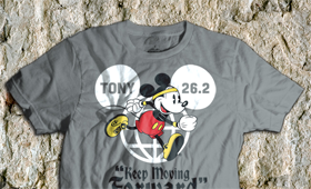 [Disney] 2011 Marathon shirt